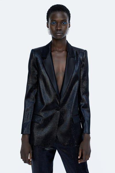 De En Brillo Imagen 2 Zara 2019Blazers Blazer Efecto UMGjSLqVzp
