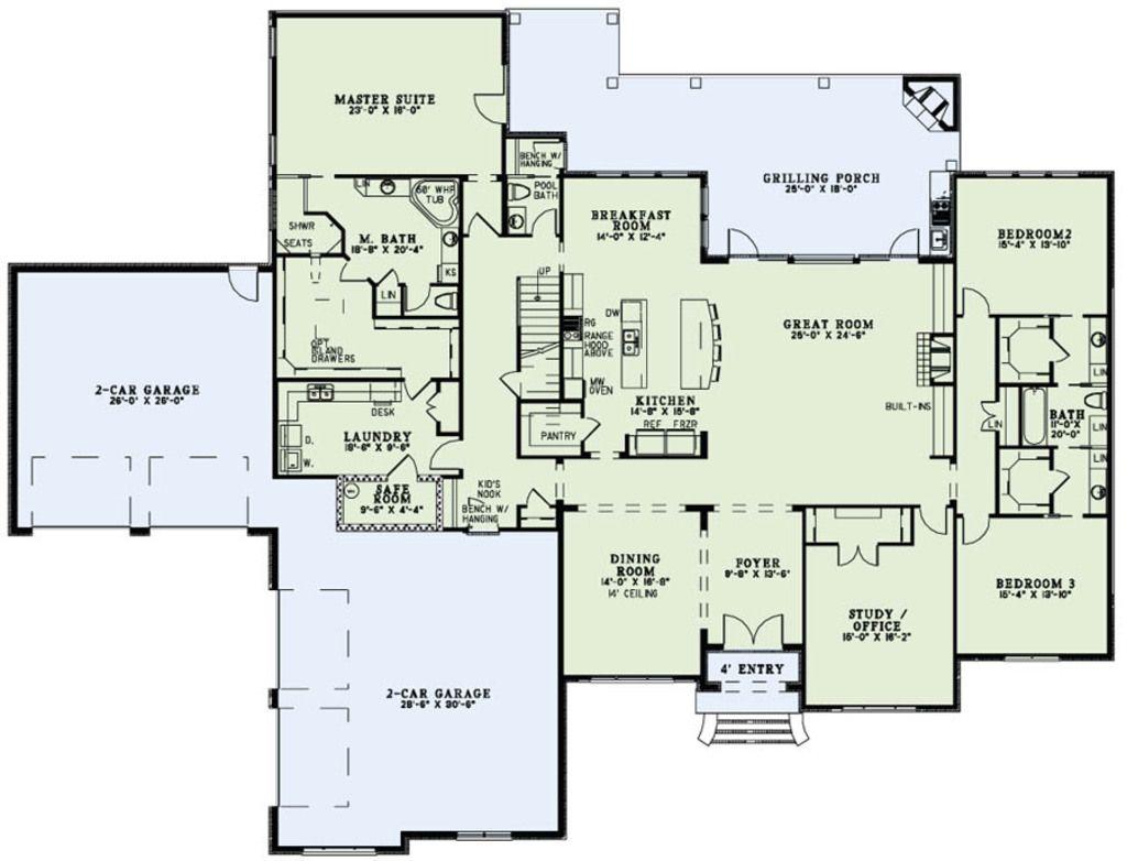 Charmant Plan 17 2491   Houseplans.com