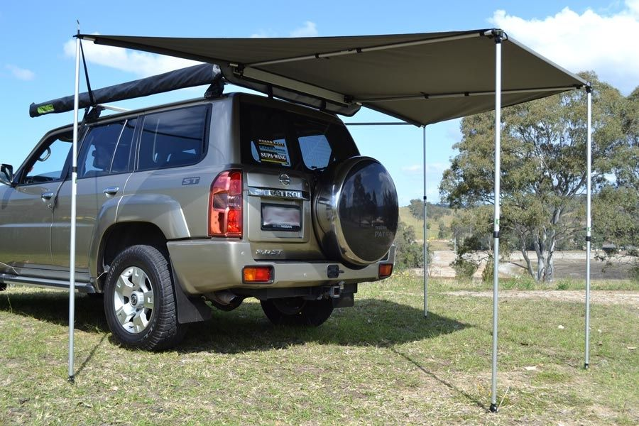 Rear Wing Awning 3.75 Metre | Truck bed camping, Camper ...