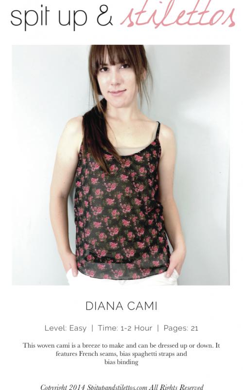 SpaghettiTop, Sommer Top, XS-XL, Diana Cami   Damen Tops ...