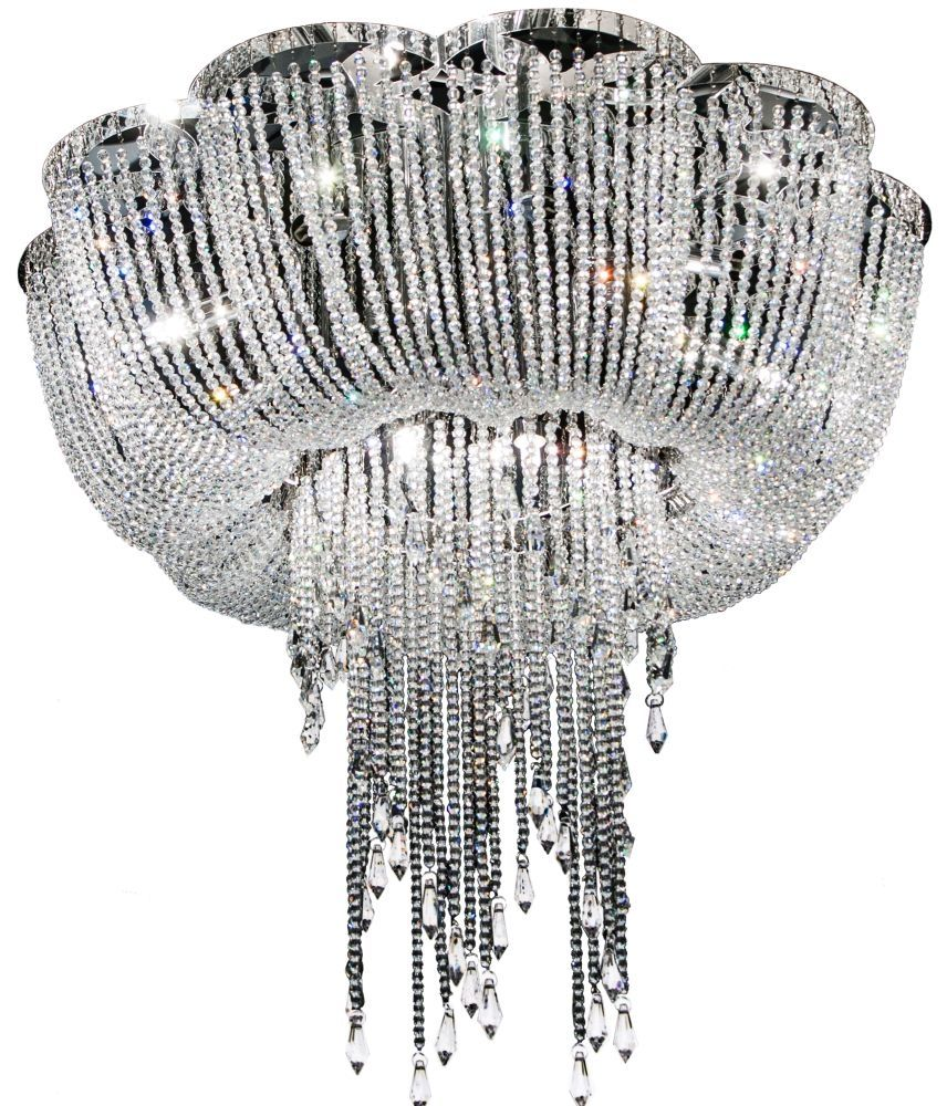 Rv astley enna large draped crystal ceiling light r v astley buy rv astley enna large draped crystal ceiling light online by r v astley from cfs uk at unbeatable price arubaitofo Image collections