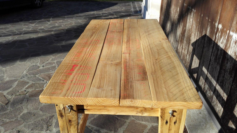 Pallet Tavolino ~ Tavolino di pallet e legno riciclato di skinofwood su etsy