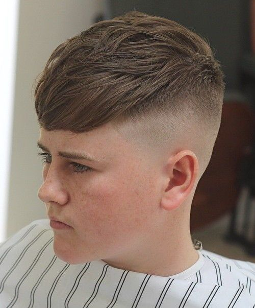 Reverse Layered Cut With A High Fade