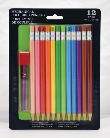 Walmart Canada Mechanical Coloured Pencils Mechanical Colored