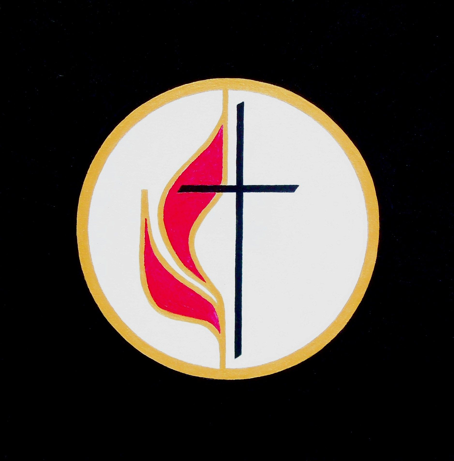 1968 Logo for The United Methodist Church by Michael James