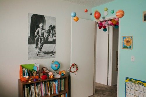 Pin By L Loulou On Kids House Pinterest Best Decorating - Hanging solar system for kids room