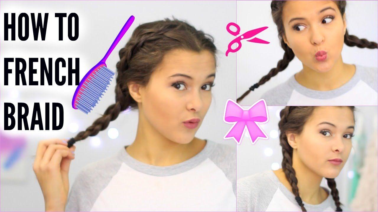 How To French Braid Your Own Hair Dutch Braid Braiding Your Own Hair French Braid Natural Hair Styles For Black Women