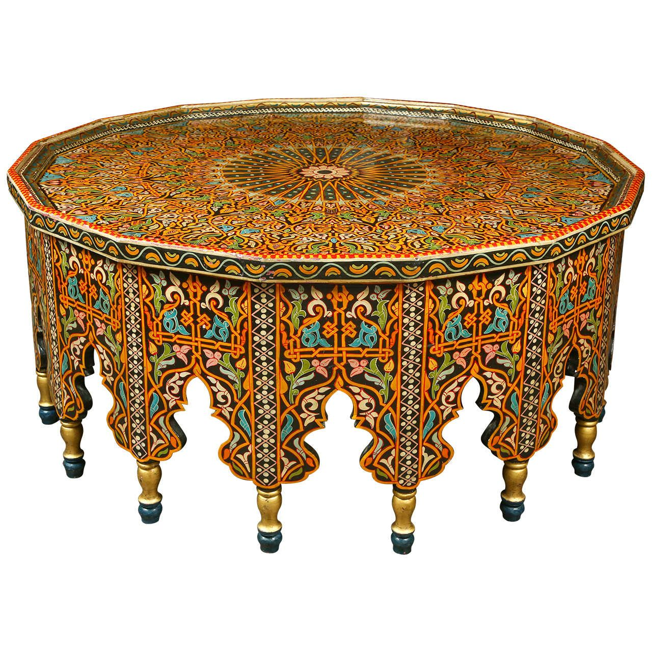 Best Fabulous Moroccan Coffee Table From A Unique Collection 400 x 300