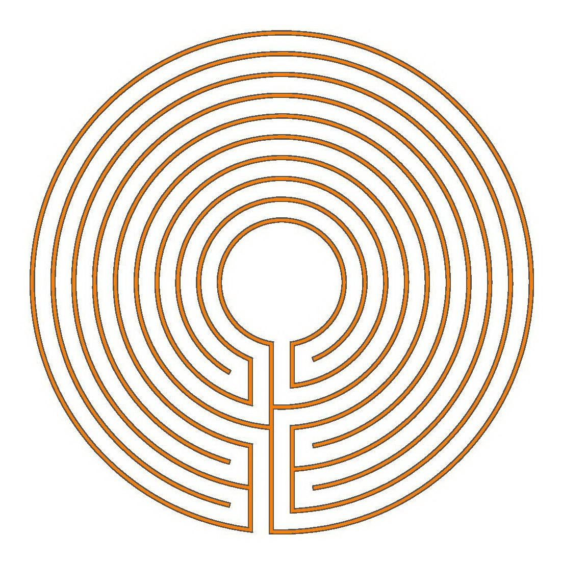 the 9 circuit chartres and classical labyrinth labyrinth pinterest rh pinterest com  Pinterest the Adventures of Elmo in Grouchland