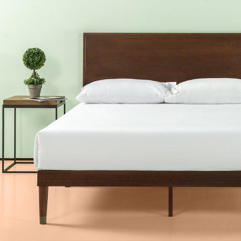 Hank Platform Bed With Images Wood Platform Bed Platform Bed