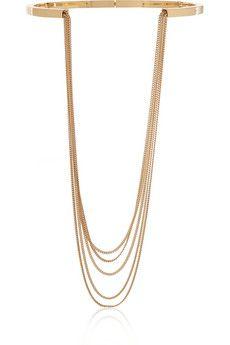 Chloé Delfine gold-tone necklace | NET-A-PORTER