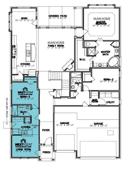Lennar 174 The Concordia Ii 3548 Square Feet 5 Bedrooms 4