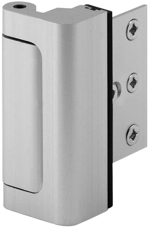 Defender Security Satin Nickel U 10827 Door Reinforcement Lock