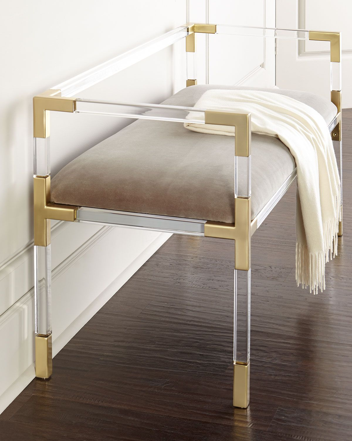 Jacques Bench Gold
