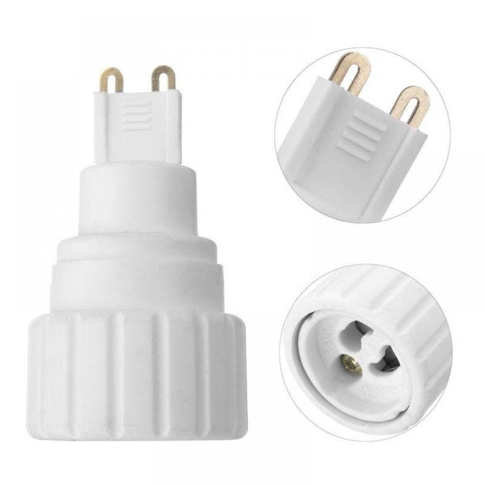 G9 To Gu10 Led Light Bulb Base Screw Adapter Holder Socket Converter 220v 5a Light Bulb Bases Led Light Bulb Light Accessories