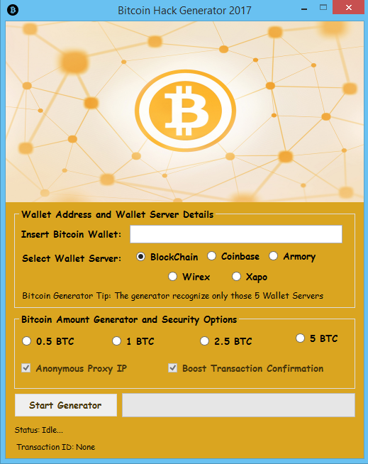 Free Bitcoin Generator download | SourceForge net | vijay in