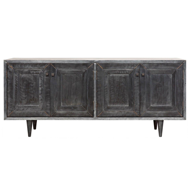 Noir Yves Sideboard Zinc Furniture Sideboard Sideboard Buffet