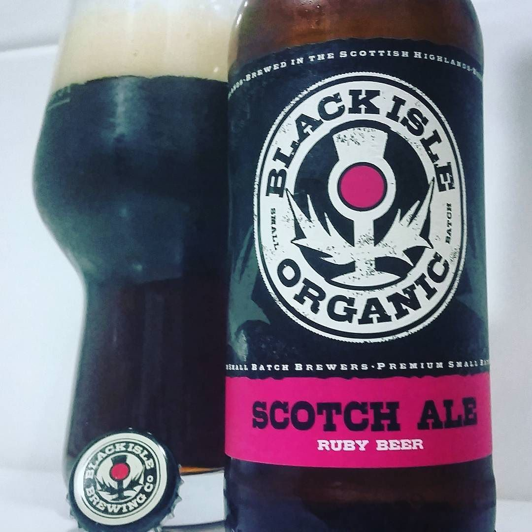 What a lovely Scotch Ale by @BlackIsleBeer! 'Cause beer is more than just hops!