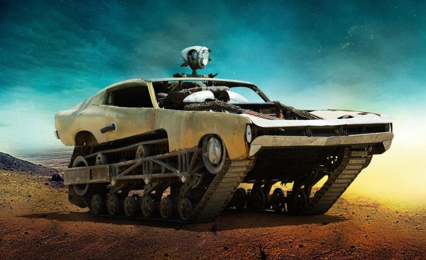 Mad Max Fury Road Images Of The Film S Insane Vehicles Mad