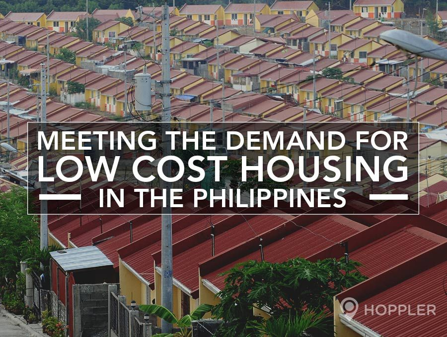 Meeting the Demand for Low Cost Housing in the Philippines