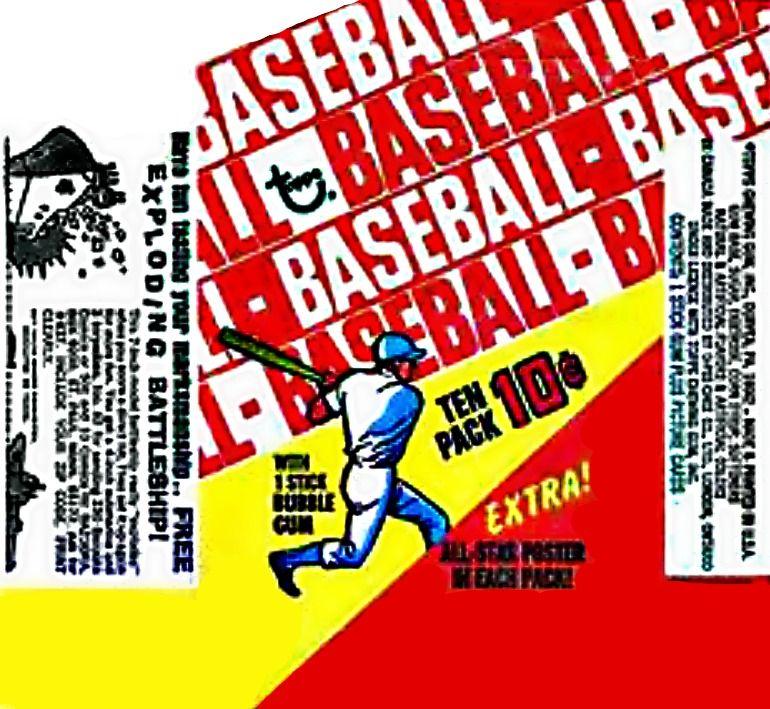 1970 topps baseball cards wrapper baseball cards
