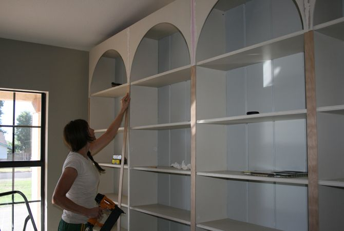 The Tale of Four Bookcases