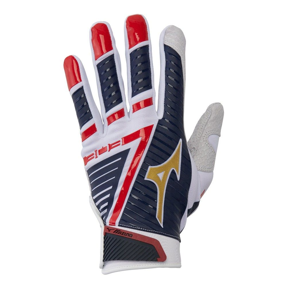 American Flag Batting Gloves