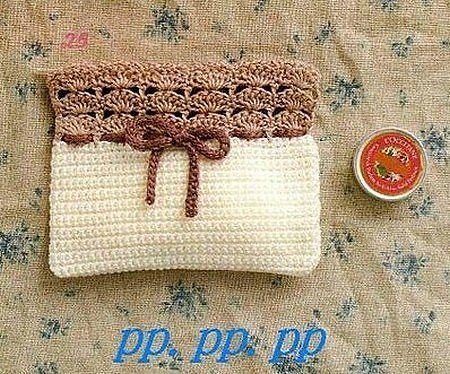 Free Crochet Pattern Purse clutch. Dozens of free purse patterns but ...