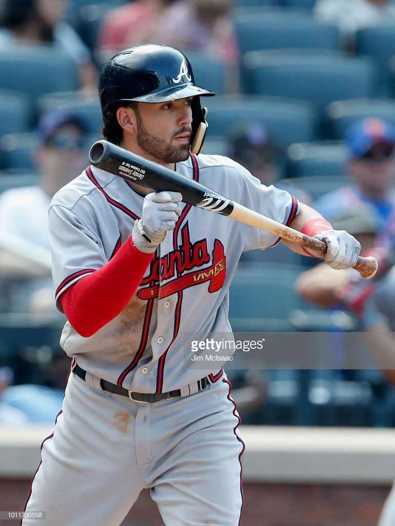 Dansby Swanson Of The Atlanta Braves In Action Against The New York Atlanta Braves Dansby Swanson Braves