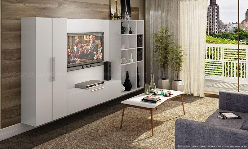 Imagem ambiente salas de estar entradas pinterest ambiente arm rios planejados e sala - Armarios para sala de estar ...
