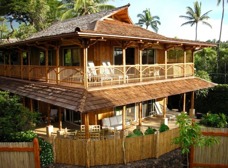 Architecture, Remarkable Tropical House Designs Bamboo Habitat ...