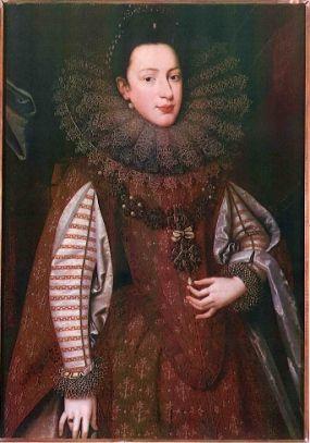 """""""Ritratto di dama""""by Frans Pourbus il Giovane, late 16th c."""