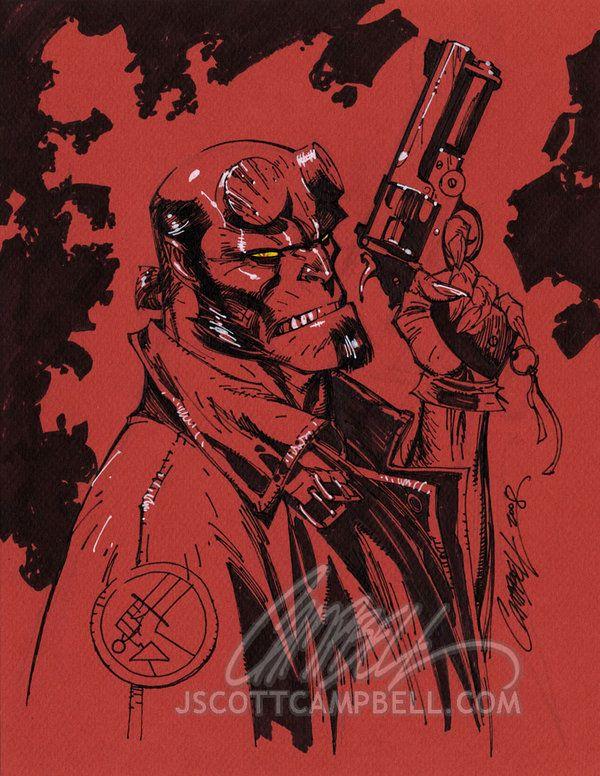 J. Scott campbell Scott campbell, Comic art community, J