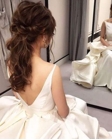 18 Beautiful Wedding Hairstyles Down For Brides And: Wedding Photography Korean Beautiful 68 Ideas