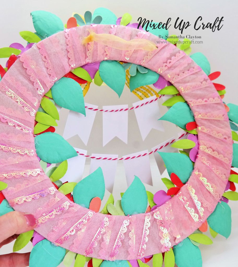 Diy easter wreath easter wreaths easter projects crafts