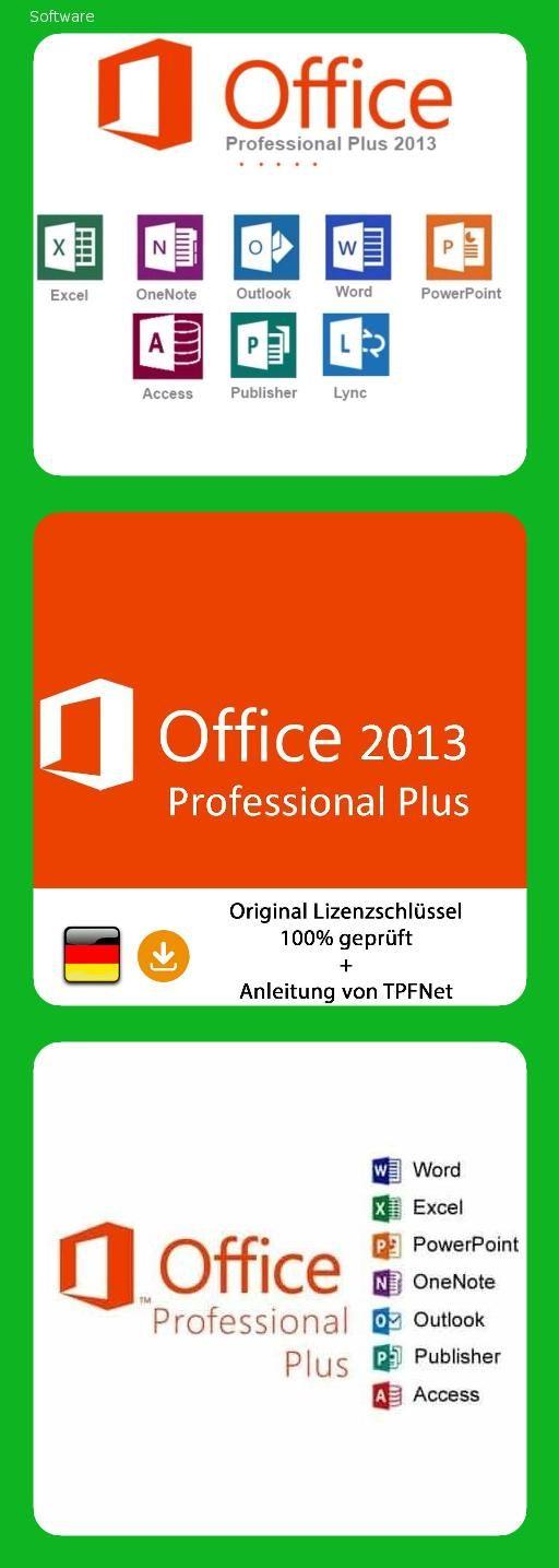 Microsoft Office 2013 Professional 32 Bit 64 Bit Vollversion Original Lizenzschlussel Per Post Und E Mail Anleitung Von Tpfnet Versa Microsoft Office Poster Und Anleitungen