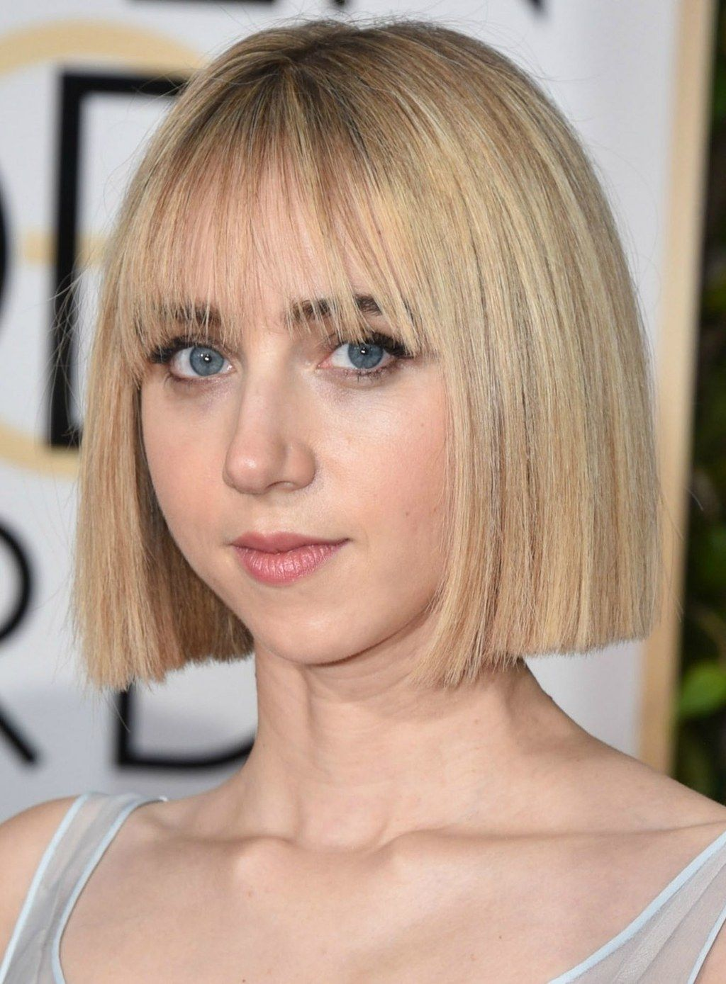 sorry, long layers: blunt haircuts are officially in | hair