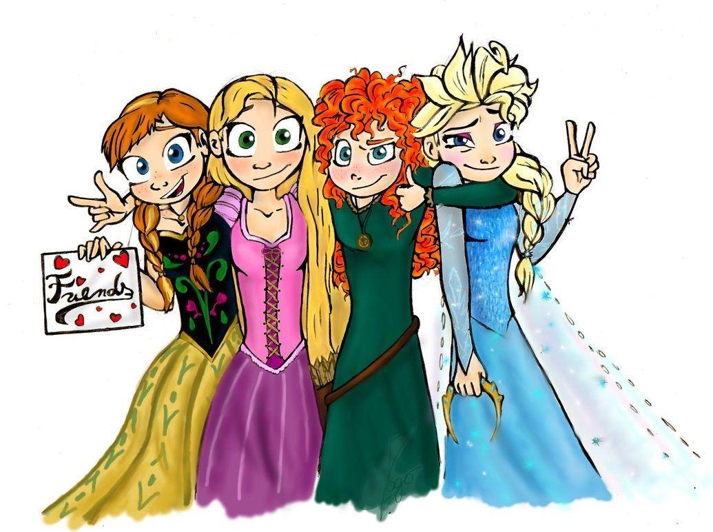 Картинки принцесс смешные
