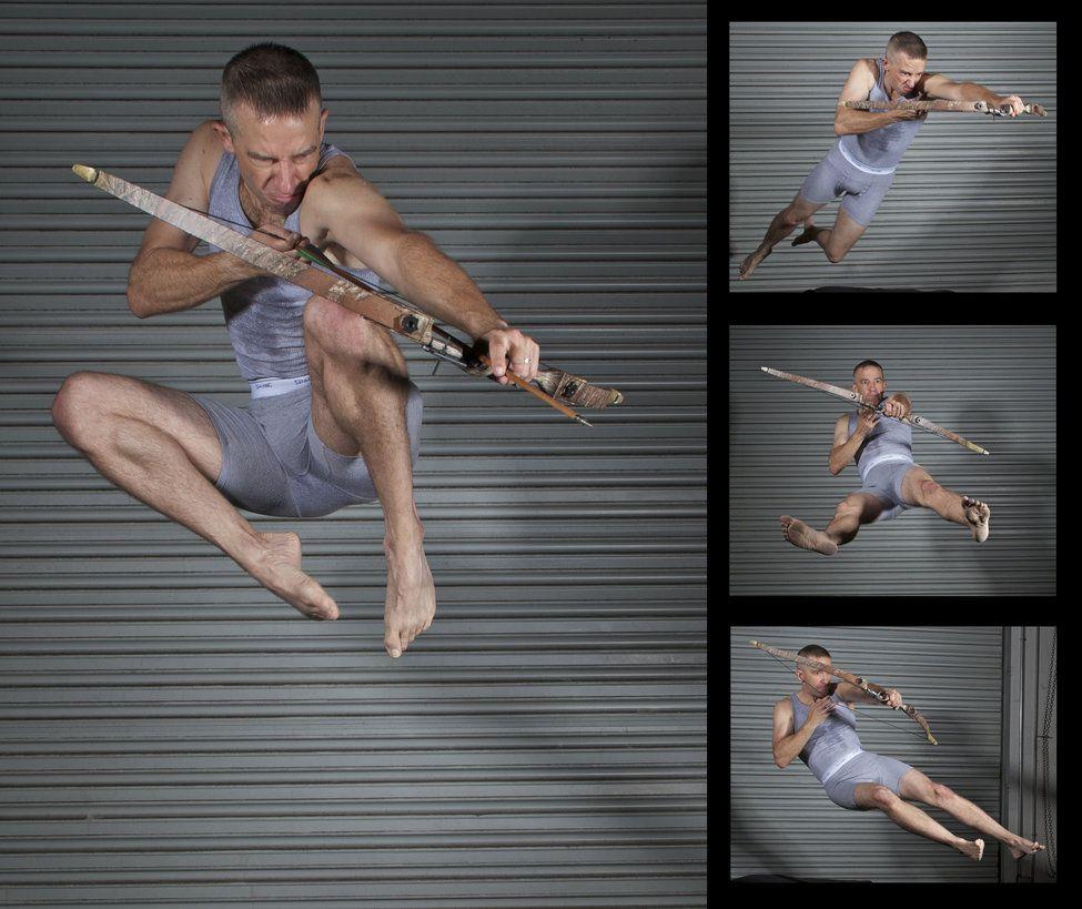 Male Archer Pack Pose Reference by SenshiStock on deviantART