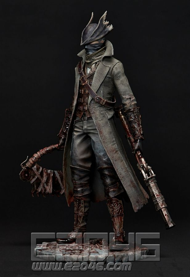 E2046 com - Hunter (Pre-painted) (Bloodborne , Gathering