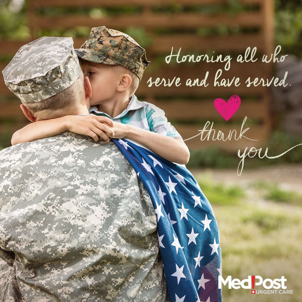To all of America's Veterans and current military