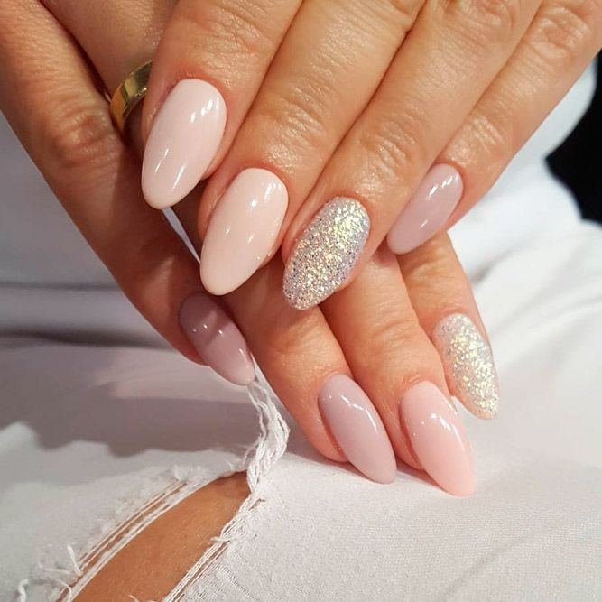 Variety of Almond Nail Designs for a Sophisticated Look ☆ See more: https:/ - 33 Lovely Designs For Almond Nails You Won't Resist Nail Trends