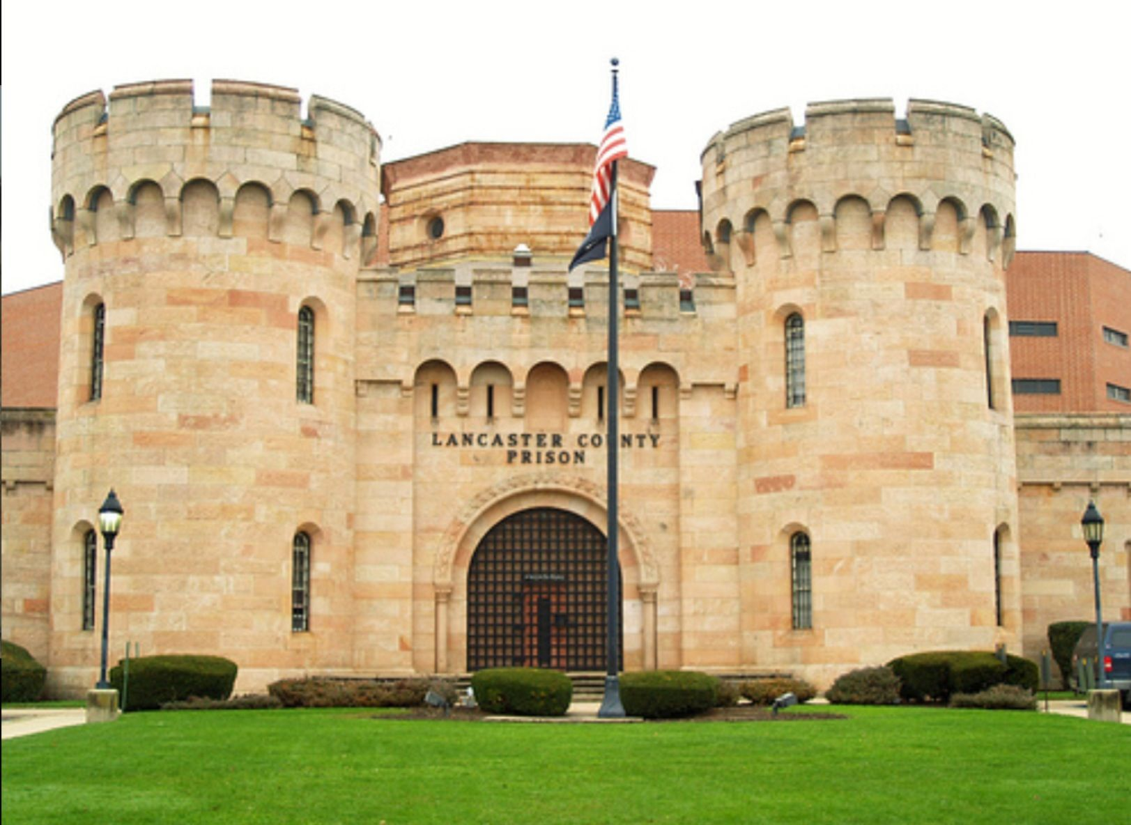 the lancaster county pa jail was opened in 1851 it was built by john haviland who also. Black Bedroom Furniture Sets. Home Design Ideas