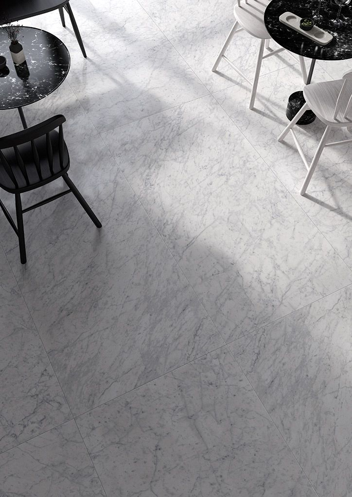 Pavimento gres porcel nico de efecto m rmol tendencias - Pavimentos de marmol ...