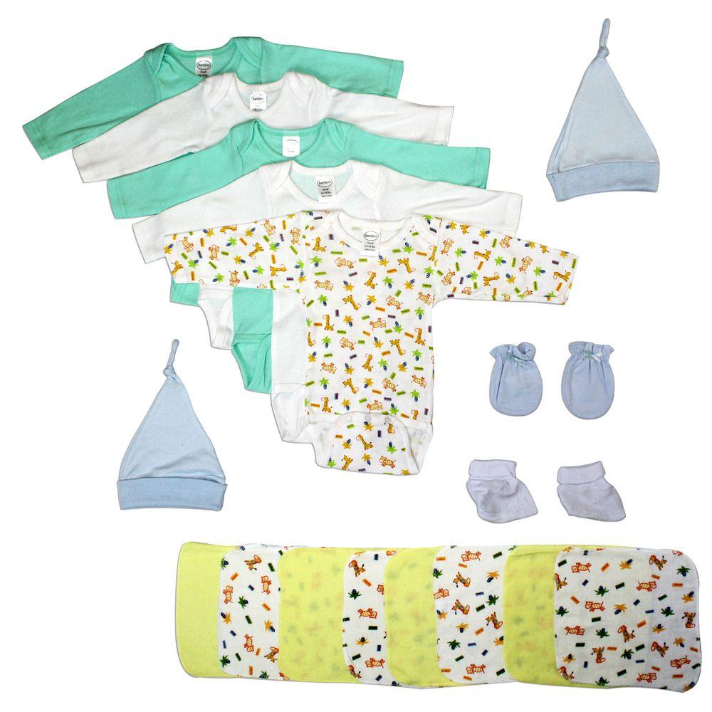 Bodysuits Bambini Boys 26 Piece Layette Set Baby