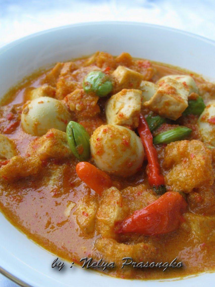 Aneka Resep Sambal Goreng Tahu Telur Puyuh Resep Masakan Resep Makanan Pedas
