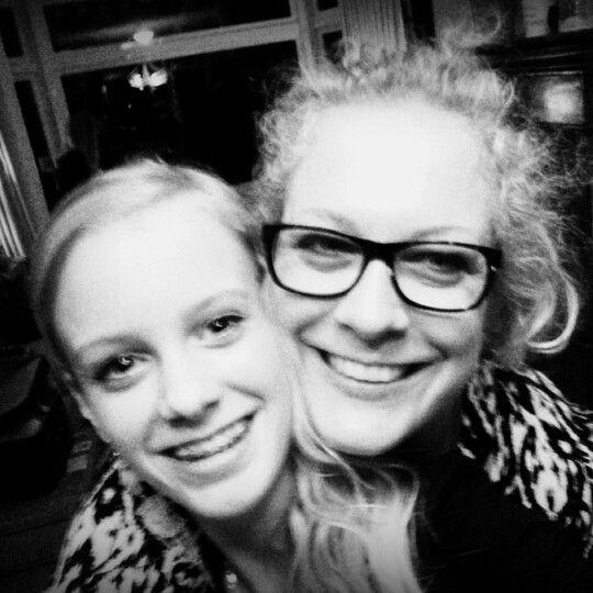 With my mum! @ilsepootruiter