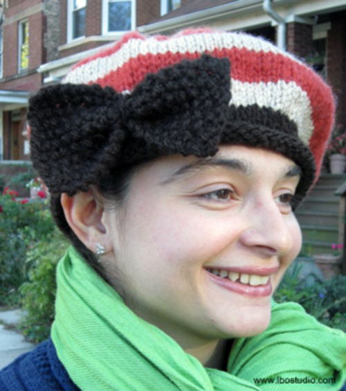 Autumn Knit Beret Pattern Beret Autumn And Knitted Hat