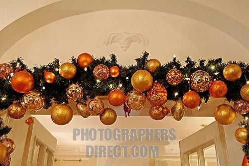 christmas decorations for a cornice over an inside door christmas ornaments on pine bough hanging over door frame christmas - Inside Door Christmas Decorations