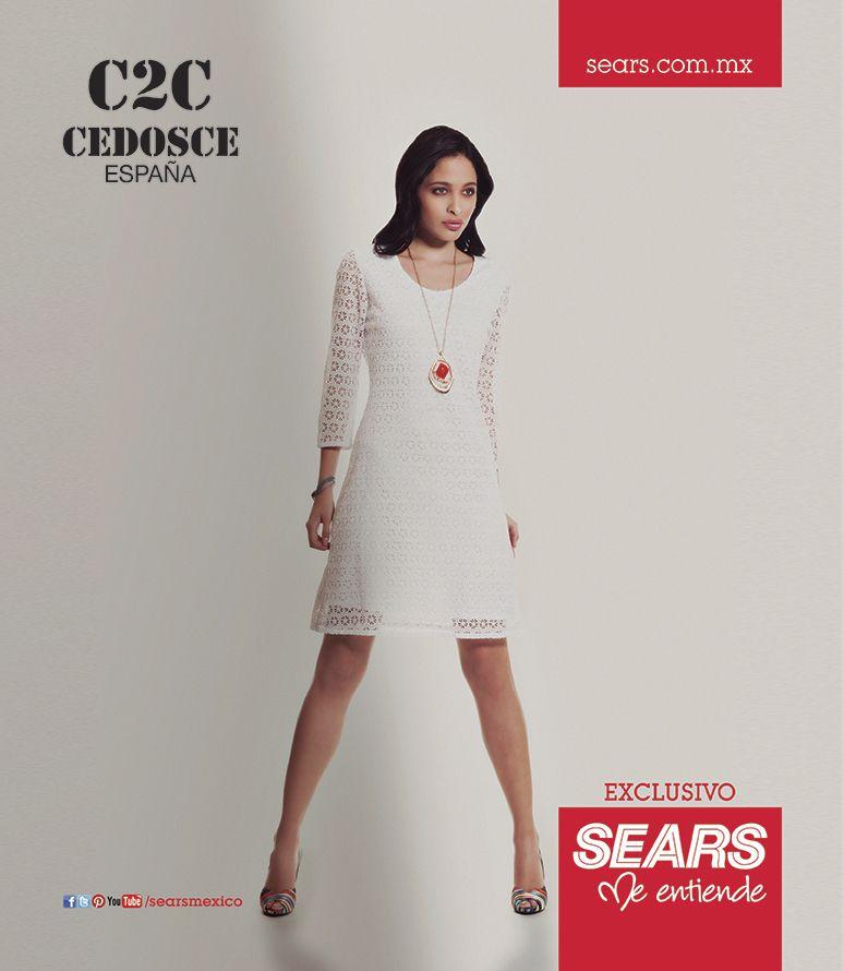 320130e483a7 Cedosce España... En exclusiva para Sears México. | Sears | Moda ...
